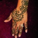 Simple Mehendi 22