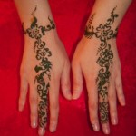 Simple Mehendi 24