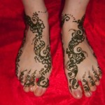 Simple Mehendi 25