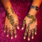 Simple Mehendi 30