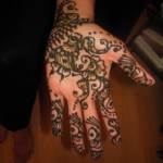 Simple Mehendi 8